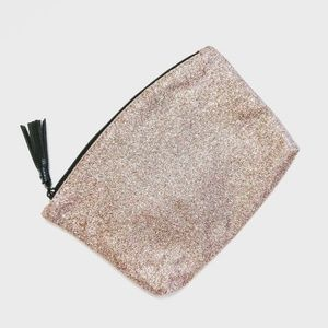 IPSY Glittery Makeup Bag